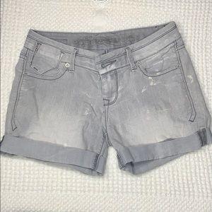 Size 2 gray Express Jean shorts